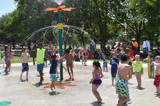 Denton Parks and Rec maintains one sprayground, aka splash pad.