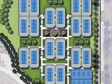 New Tennis Center Under Construction