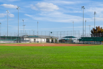 Denton Parks and Rec maintains:  14 Baseball Fields 11 Softball Fields 4 Football Fields