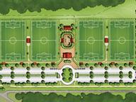 G. Roland Vela Athletic Complex Under Construction