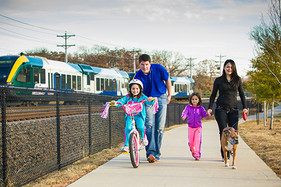 Denton Parks and Rec maintains 31.1 trail miles.
