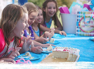 Birthday party celebration at Water Works Park