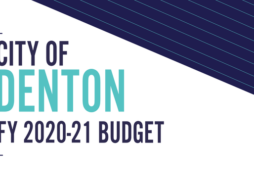 City of Denton Adopts FY2020-21 Budget