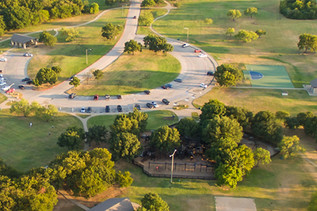Denton Parks and Rec maintains 32 parks.