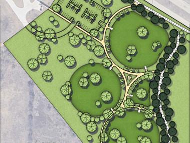 New Dog Park Under Construction