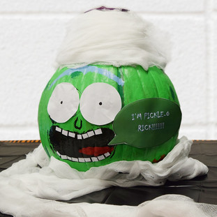 Painted Pickle Pumpkin