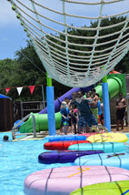 Denton Parks and Rec maintains one outdoor public pool.