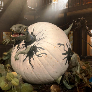 Jurassic Painted Pumpkin