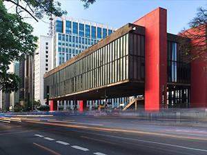 The Museu de Arte de São Paulo