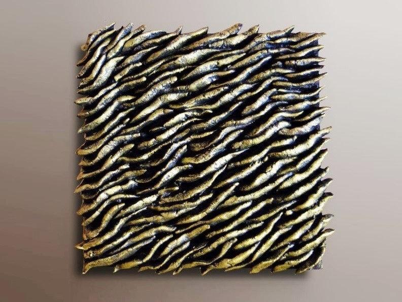 Wood Wall Tile Olive Bronze 3d Wall Art Jeemado Art