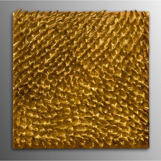 Texture #1 | Gold