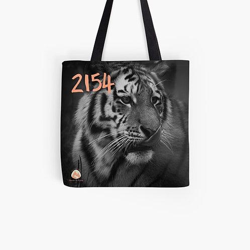 2154 Siberian Tiger Tote Bag