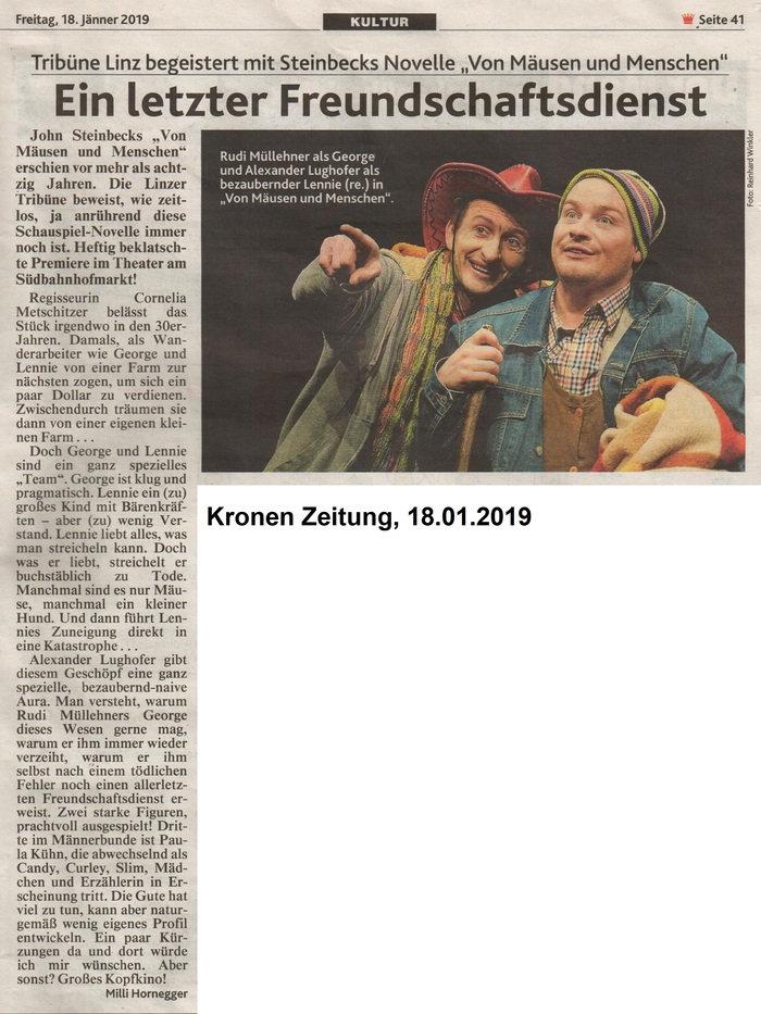 VON_MÄUSEN_UND_MENSCHEN_Krone_18.01.2019