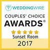 2017 Wedding Wire Couples Choice winner