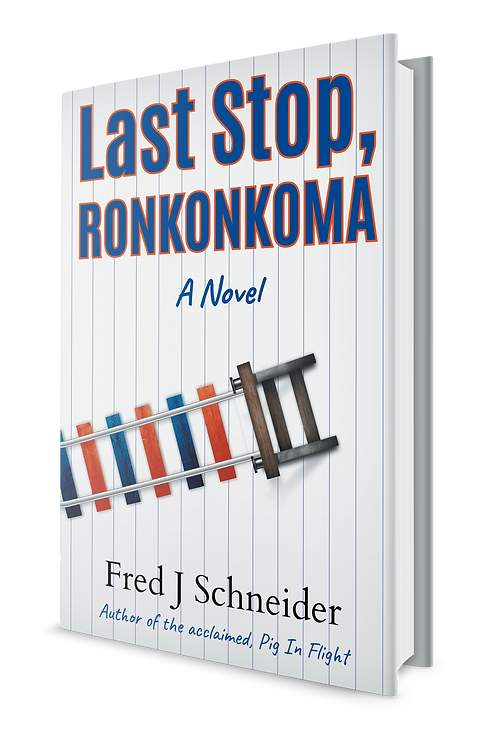 "Inscribed ""Last Stop, Ronkonkoma"" paperback"
