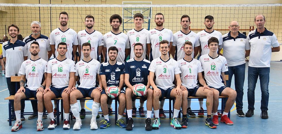 1. Foto di Squadra Serie B maschile 2019