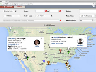 Job Comments, Map View and more