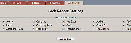 PowerDispatch Field Service Software - Reports Customization