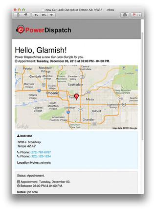 Two-Way Messaging in PowerDispatch Lite