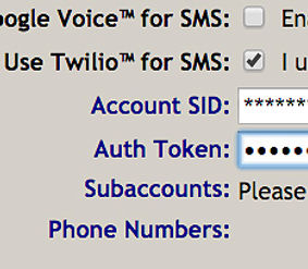 Twilio & Google Voice API phone number Integrations for Field Service businesses