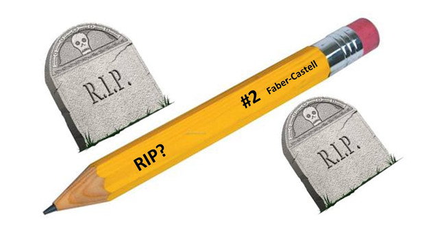The Resurrection of the #2 Pencil and Pen