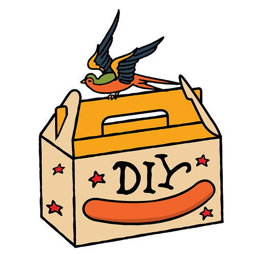 SMALL Fathers Day DIY Box