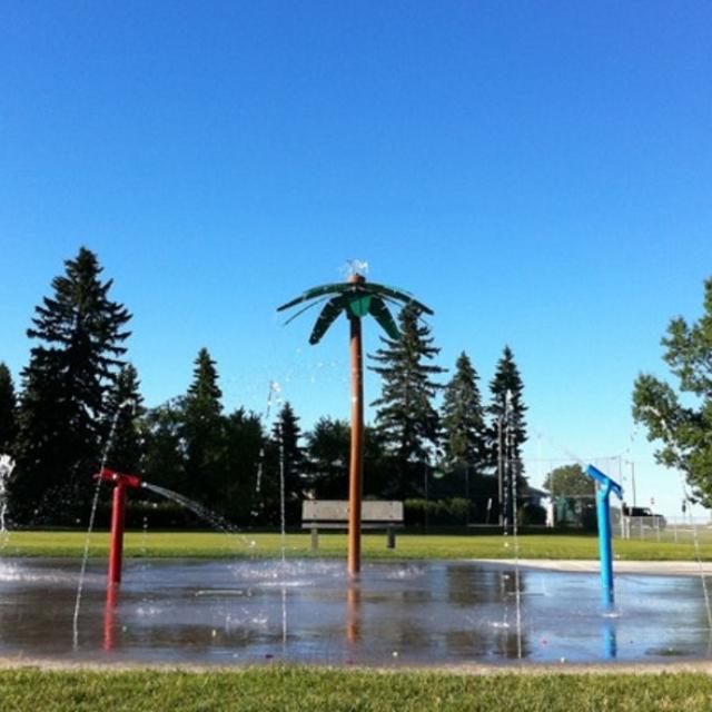 Splash park.