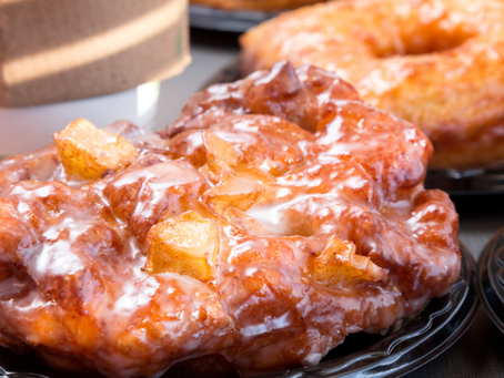 HEALTHY APPLE FRITTERS