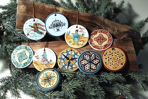 Christmas Tree Ornaments - Group C