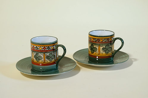 Expresso Cups & Saucers (set of 6)
