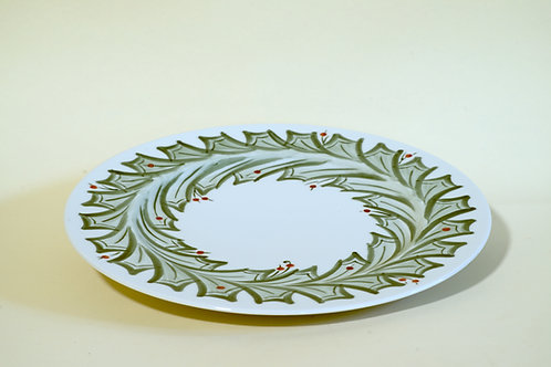"Serving or Large Dinner Plates 12½""      (set of 2 plates)"