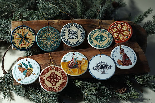 Christmas Tree Ornaments - Group A