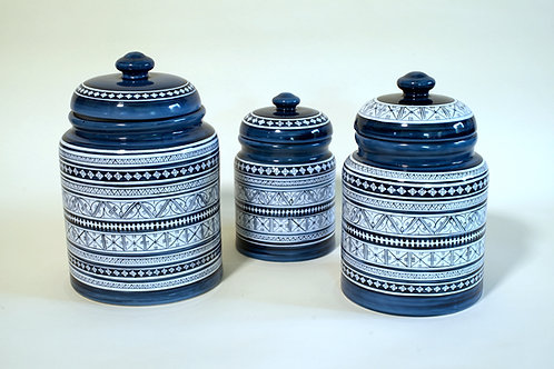 Cookie Jars - 3 sizes