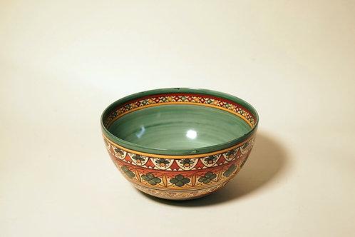 """Medium Serving Bowl Light Green  8¼"""""""