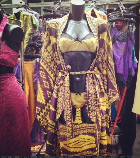sexy tribal silk