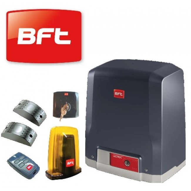 BFT Gate Barrier, BFT Gate Remote Control, Gate Slider