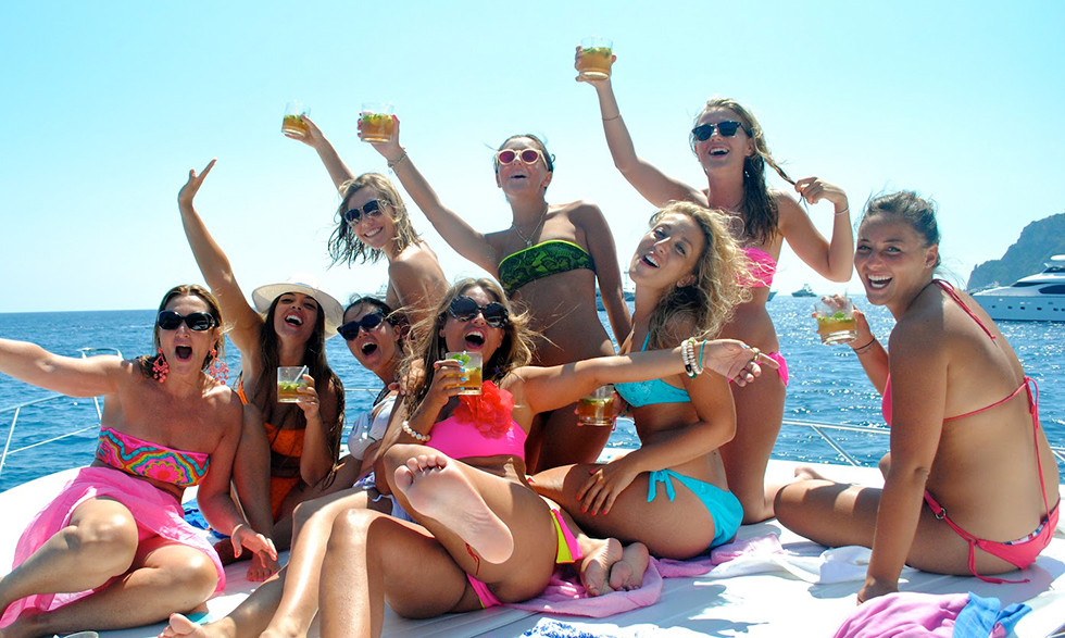 astypalaia party on the boat