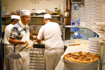 Costantino in pizzeria
