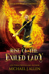 Michael J Allen: Rise of the exiled lady (Book 4)