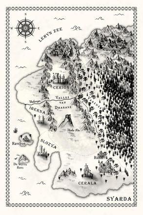 Map of Syarda