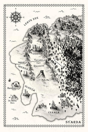 Map of Syarda
