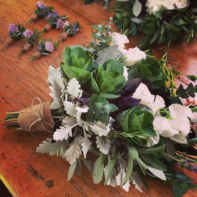 Instagram - For Angela #congratulations #saturdaywedding #herbs #rustic #bespoke