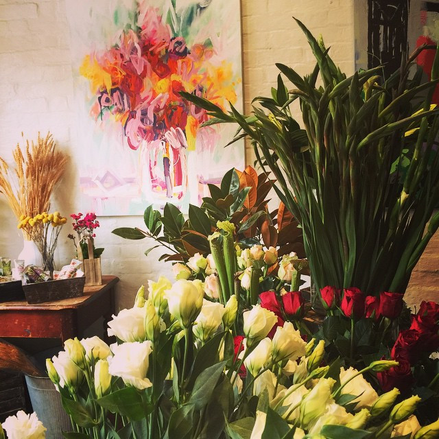 Loretta & Larissa Blake Artwork featured at Botanica Flora