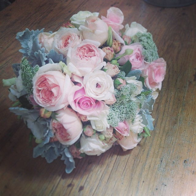 Instagram - Bride's bouquet from Saturday's gorgeous wedding at @racinelacolline