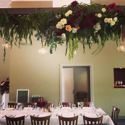 Summer wedding, Tonic #millthorpe - Hanging installation