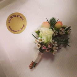 Instagram - Buttonhole from Saturday's gorgeous wedding...jpg