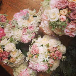 Instagram - Flashback from our weekend... Gorgeous bouquets for a gorgeous brida