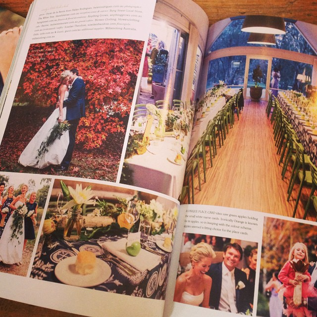 Instagram - Another pic from our wedding floristry featured in @realweddingsmaga