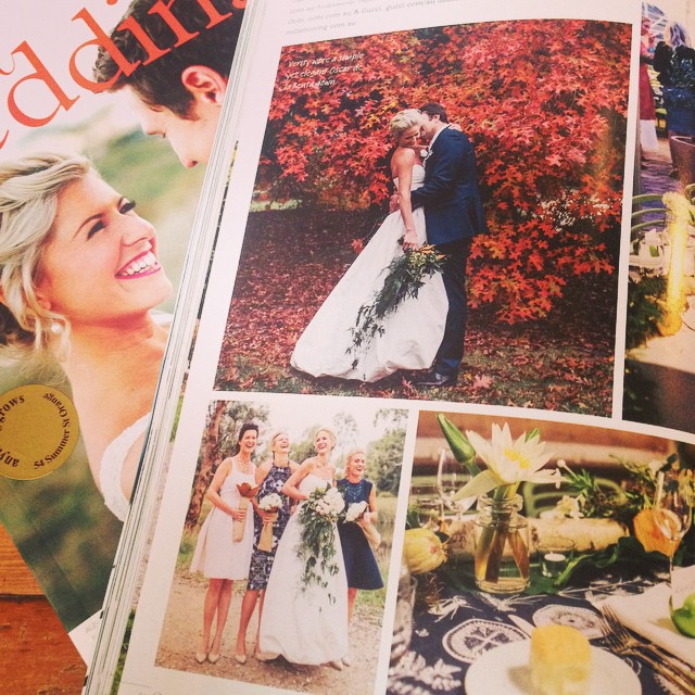 Instagram - So excited one of our weddings is featured in this month's @realwedd