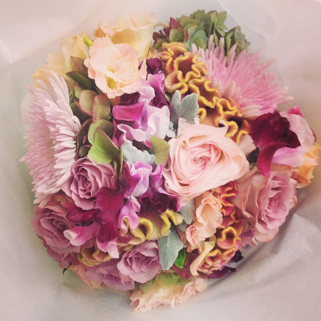 Instagram - Bridal bouquet for gorgeous Kate from yesterday's wedding at Athol G